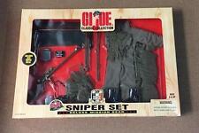 """GI Joe 12"""" Sniper Set Deluxe Mission Gear Classic 35th Anniversary"""