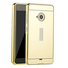 Metal Aluminum Plated Hybrid Removable Mirror Hard Case Cover for Nokia Phones