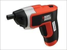 BLACK & DECKER 3.6V LITHIUM ION RECHARGEABLE BATTERY CORDLESS SCREWDRIVER DRILL