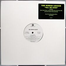 HUMAN LEAGUE  Tell Me When 4mx promo 12 inch 1995 EastWest Utah Saints Red Jerry