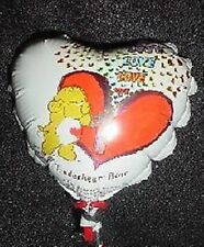 "4"" Tenderheart Bear Carebears Micro Foil Balloon- MIC7"