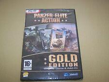 Panzer Elite Acción (Gold Edition) (PC: Windows, 2007) ** nuevo Y Sellado **