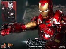 HOT TOYS - THE AVENGERS - Iron Man Mark VII MMS185 NEW (Original Box Sealed)