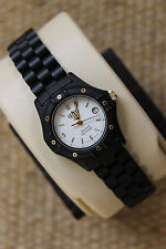 Pre Tag Heuer NEW NIB NWT 953.008 PVD Black White RARE 2000 Watch Womens Rare