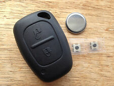 Vauxhall 2 button Movano Vivaro REMOTE KEY FOB CASE REPAIR KIT