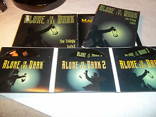 Alone in the Dark Trilogy rare mac game collection with box manual