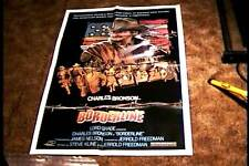 BORDERLINE ORIG MOVIE POSTER 1980 CHARLES BRONSON