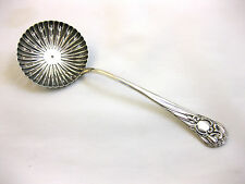 ANTIQUE SOLID SILVER--ORNATE SIFTER SPOON--HALLMARKED:-SHEFFIELD 1896