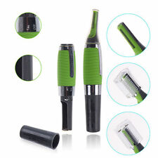 Precision facial hair trimmer LED Light Nose Ear Face Hair Trimmer Electric M...