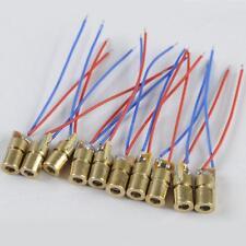 10pcs laser diode module red Laser Diode laser circuit 5V Module Head 6*18 TMPG