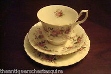 Royal Albert -England- c1940s Mid Century Trio of cup, saucer and cake plate[65]