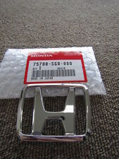HONDA CIVIC CRX EF8 EF9 HOOD EMBLEM BADGE CHROME H 75700-SG0-000 PASSWORD:JDM 2U