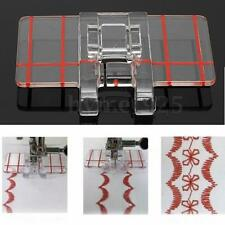 Clear Parallel Stitch Clear Foot Presser Embroidery for Brother Sewing Machine
