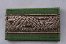 Hungary Hungarian Republic Army Dandártábornok Brigadier General patch stripe