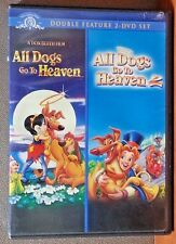 ALL DOGS GO TO HEAVEN 1 & 2   (DVD)   LIKE NEW