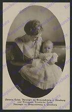 orig Foto Dora Tarnke Herzogin Viktoria Luise Baby Braunschweig Adel Welfen 1918