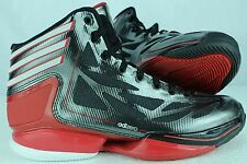 ADIDAS ADIZERO CRAZY LIGHT 2 J SZ: 5.5 BASKETBALL BLACK RED ONLY 1 IN EBAY RARE!