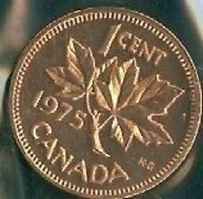 1975-PL Proof-Like Penny 1 One Cent 75 Canada/Canadian BU Coin UNC Un-Circulated