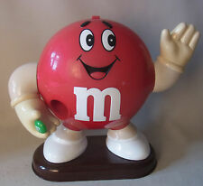 Vintage 90s M&M´s Dispenser Spender Rot 1991