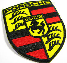 PORSCHE STUTTGART Germany Embroidered Advertising Iron on Patch Automobile Car