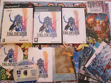 FINAL FANTASY XII 12 PRESS KIT RARE PRENSA PS2 PLAYSTATION 2 PAL COMPLETO