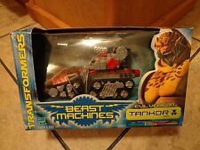 1999 HASBRO--TRANSFORMERS BEAST MACHINES--TANKOR FIGURE (NEW)