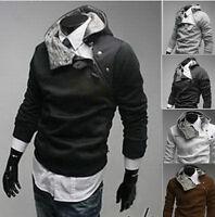 Jeansian Mens Slim Jackets Coats Shirts Tops Dress Fur Hoodies XS S M L XL 0804