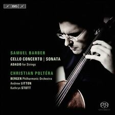 Christian Poltera Plays Samuel Barber, New Music