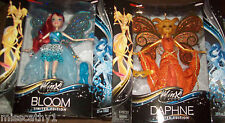 Lot of 2 SDCC Comic Con 2013 WINX Club Bloom & Daphne Limited Edition Dolls MIB