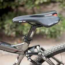 New Road Mountain Bike Bicycle Cycling Hollow Saddle Seat Cushion Black T7M