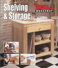 Popular Mechanics Workshop: Shelving & Storage-ExLibrary