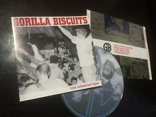 GORILLA BISCUITS LOST REHEARSAL TAPE CD CIV HARDCORE PUNK NYHC