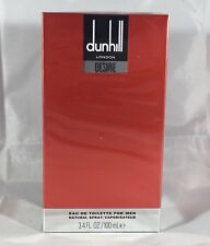 Desire Red By Dunhill 3.3 / 3.4 Oz EDT Spray New In Box Sealed Cologne For Men