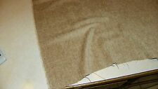 Wheat Stria Chenille Upholstery Fabric Remnant  F1324