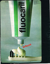 PUBLICITE ADVERTISING 045  1973  FLUOCARIL   dentifrice LABORATOIRE GOUPIL