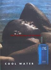 Davidoff Cool Water Fragrance 1995 Magazine Advert #1147