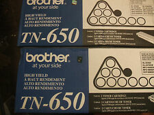 4 pack brother tn 650 genuine oem tn650 open box new