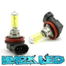 H8 Yellow Optik Halogen-Lampen 35 Watt XXL Gelb Birnen mit E4 Kennung