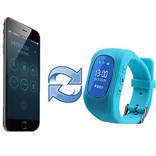 anti-lost Children Smart GPS Positioning Wrist Watch For Android IOS US