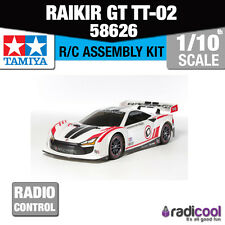New! 58626 TAMIYA RAIKIRI GT TT-02 R/C KIT RADIO CONTROL CAR 1/10th SCALE