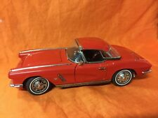 Danbury Mint 1962 Chevrolet Corvette Red 1:24 Scale Box - No Papers