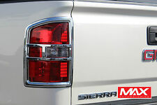 TLGM102 - 2015-2017 GMC Sierra  2500 HD Chrome Tail Light Covers
