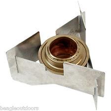 NEW Olicamp Westwind Aluminum Windscreen and Trangia Spirit Burner Alcohol Stove