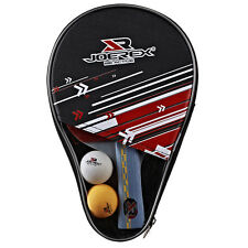 5 Stars Long Handle Table Tennis Racket Ping Pong Paddle Bat  With Cover & Balls