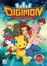 Digimon: Data Squad - The Official Fifth Season (DVD, 2014, 8-Disc Set)        X