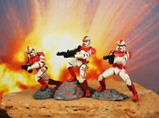 Hasbro Star Wars 1:32 Soldier Figure Coruscant Guard Elite Clone Shock Troopers
