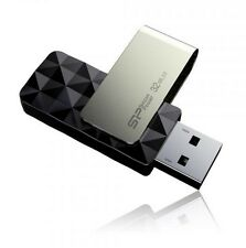 32GB Silicon Power B30 Blaze USB3.0 Flash Drive Swivel Style Black