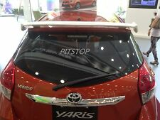 Toyota YARIS Hatchback 2014-on ABS Rear roof spoiler SPORTS style-Unpainted