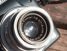 Ihagee Anast Exaktar 5.4cmF3.5 1936 Kine Exakta SONY APS-C m4/3 Olympus Nikon