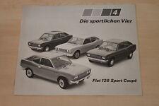 153106) Fiat 128 Sport Coupe Prospekt 03/1972